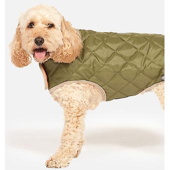 Quilted Dog Coat Forest Green 60cm (24