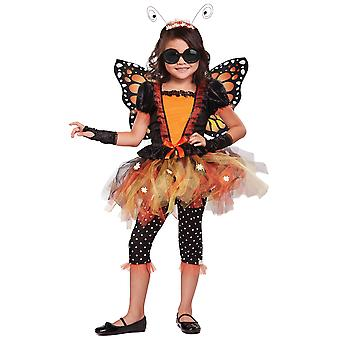 Magnificent Monarch Butterfly Garden Fairy Insect Story Book Week Girls Costume