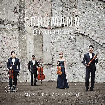 Mozart / cuarteto Schumann - cuarteto Schumann - cuartetos de cuerda [SACD] USA import