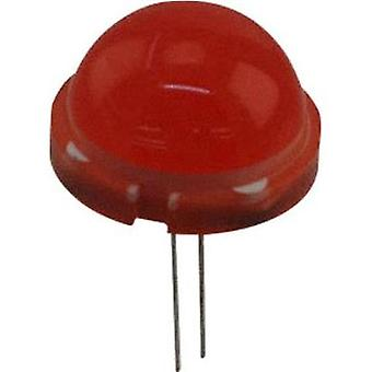 LED wired Red Circular 20 mm 60 mcd 120
