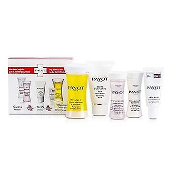 Payot Travel Set: Speciale 5 + Creme Purifiante + Demaquillant Essentiel + Lotion Essentielle + Pate Grise - 5pcs