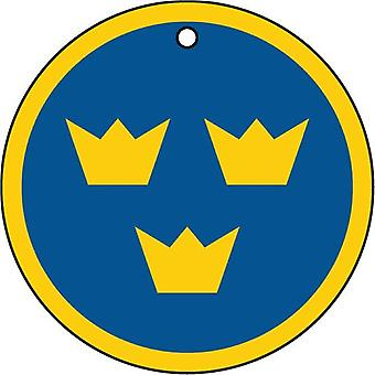 Sweden Air Force Roundel Car Air Freshener