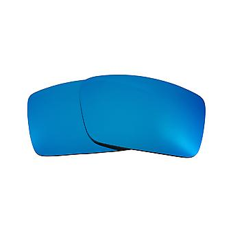 New SEEK Polarized Replacement Lenses for Oakley GASCAN S Small Blue Mirror