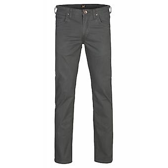 Lee Daren zip fly men's jeans green stretch pants