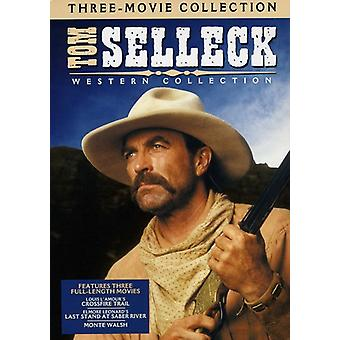Tom Selleck Western Collection [DVD] USA import