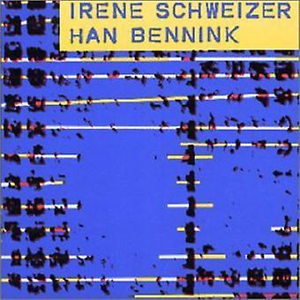 Irene Schweizer - Schweizer-Bennick [CD] USA import