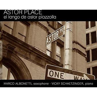 Albonetti M. / V. Schaetzinger - Astor Place [CD] USA import