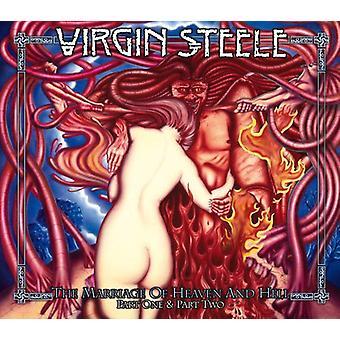 Jomfru Steele - ægteskab af himlen & helvede I + II [CD] USA importerer