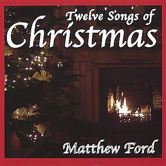 マシュー フォード - クリスマスの 12 の歌 [CD] USA 輸入
