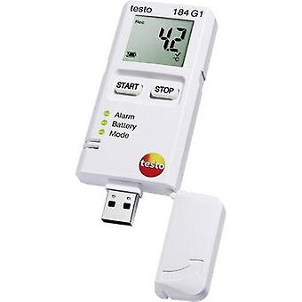 Multi-channel data logger testo 184 G1 Unit of measurement Temperature, Humidity, Vibration/acceleration -20 up to 70 °C