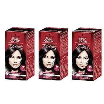 Schwarzkopf X3 Poly Color Tint 45 Natural Black