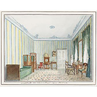 Unknown - Bedroom in a Country Dacha Poster Print Giclee