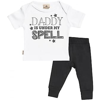 Spoilt Rotten Daddy Under My Spell T-Shirt & Jersey Trousers Outfit Set