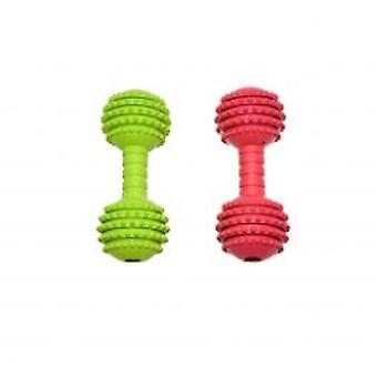 Duvo+ Rubber Dumbbell Dog Toy (Dogs , Toys & Sport , Chew Toys)
