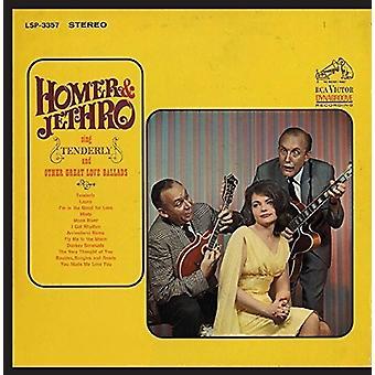Homer & Jethro - Sing ömt & andra bra kärleksballader [CD] USA import