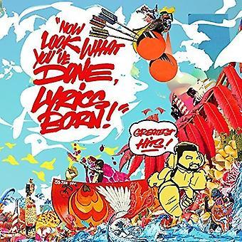 Lyrics Born - nu ser hvad du har gjort Lyrics født - største [CD] USA importere