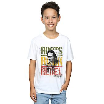 Bob Marley drenge rødder Rock Rebel T-Shirt