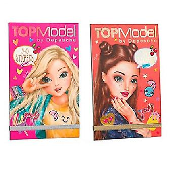 TOPModel - Stickerpad OMG - One leveres