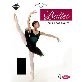 Silky Girls Dance Ballet Tights Full Foot (1 Pair)