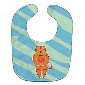 Carolines schatten BB6779BIB Tiger Baby slabbetje