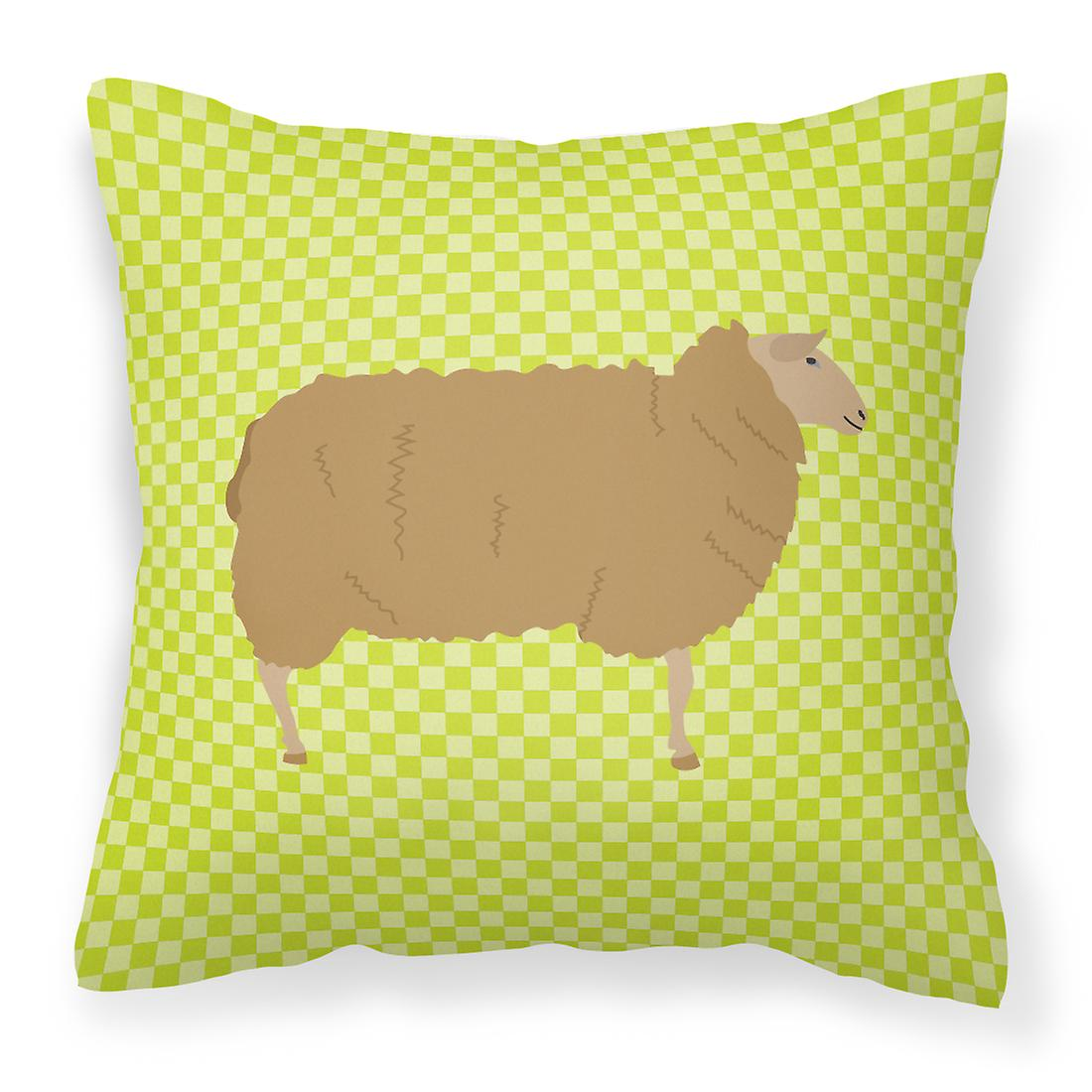 Oreiller East Friesian Vert Décoratif Tissu Mouton mNnw80