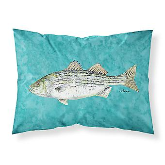 Fish  Striped Bass Moisture wicking Fabric standard pillowcase