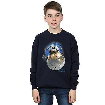 Star Wars jongens de laatste Jedi BB-8 geborsteld Sweatshirt