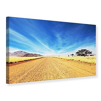 Canvas Print A Landscape In Africa