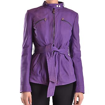 Peuterey women's MCBI235026O purple leather jacket