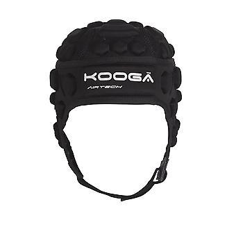 Kooga Dunedin Airtech Phase 1 Rugby Headguard [black]
