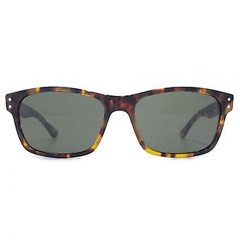 Levis Classic Rectangle Sunglasses In Tokyo Tortoiseshell