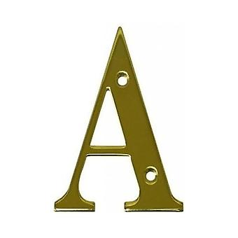 UAP House Door Letters - Gold Letter A