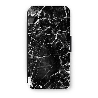 Samsung Galaxy S8 Flip Case - schwarz Marmor 2