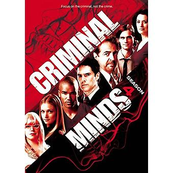 Criminal Minds - Criminal Minds: import USA sezon 4 [Płyta DVD]