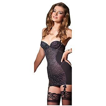 Be Wicked BW1359 1-Piece Power-Mesh Cami Suspender