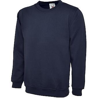 Uneek Mens/Ladies Uneek Olympic Polycotton Workwear Promo Sweatshirt