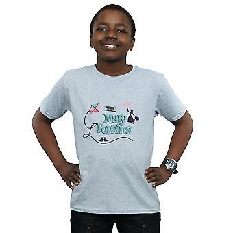 Disney Koszulka z Mary Poppins Logo chłopców