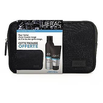 Lierac For Men Toiletry Bag + Shave Foam + Aftershave 555 gr