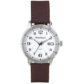 Bruno Banani watch wristwatch of GEROS leather analog BR30003