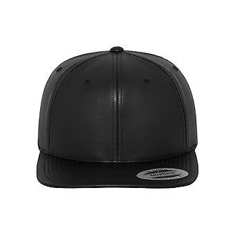 Urban classics Cap full leather imitation Snapback