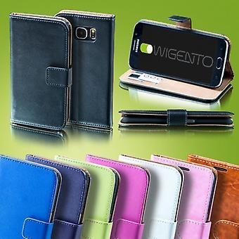 Bolsillo monedero negro de primera calidad para funda Huawei P10 protección manga