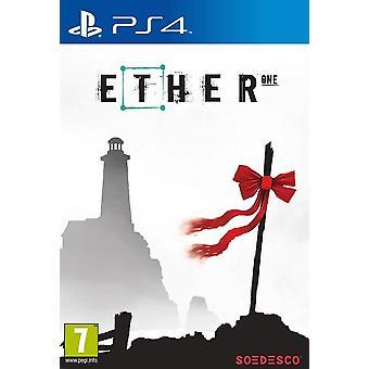 Äther eine PS4 Spiel