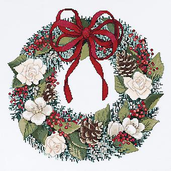 Christmas Traditions Counted Cross Stitch Kit-14.25