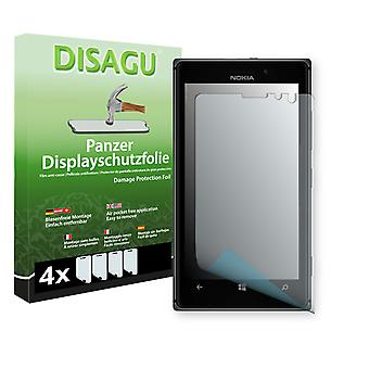 Nokia Lumia 925 display - Disagu tank protector film protector (deliberately smaller than the display, as this is arched)