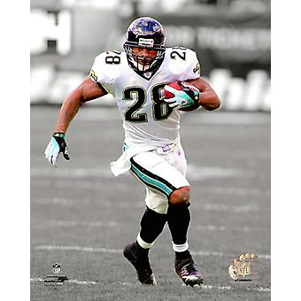 Fred Taylor Spotlight Action Photo Print