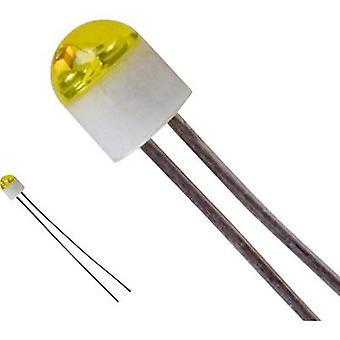 LUMEX SSL-LX203CYT LED wired Yellow Circular 2 mm 6 mcd 160 ° 30 mA 2.1 V