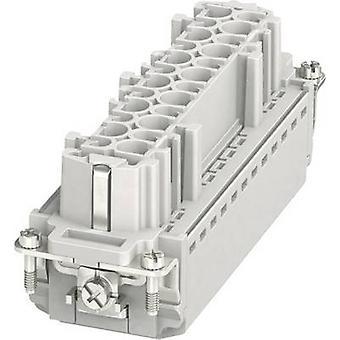 Socket inset HC-B 1407735 Phoenix Contact 24 + PE Plug & Clip 1 pc(s)