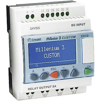Regulador del PLC Crouzet Millenium 3 Smart XD10 S 88974142 24 Vdc