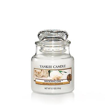Yankee Candle Small Jar Candle Classic Wedding Day 104 g