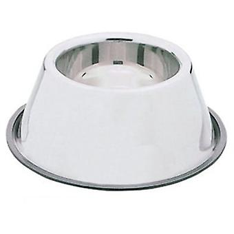 Nayeco Stainless steel feeding trough for dogs with long ears